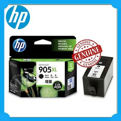 HP Genuine #905XL-BK BLACK High Yield Ink Cartridge for Officejet 6950/6960/6970