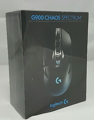 Brand new sealed Logitech G900 CHAOS Spectrum Wired/Wireless Gaming Mouse