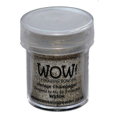 WOW! Embossing Powder 15ml-Vintage Champagne