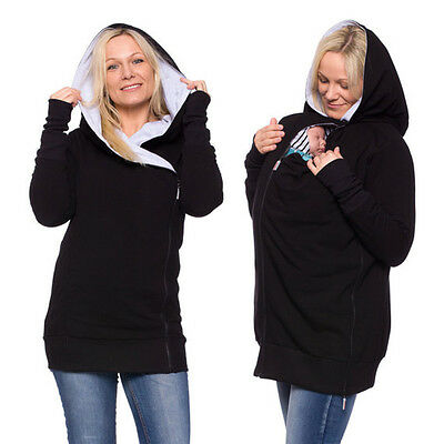 Pregnant Sweatshirt Baby Carrier Hoodie 3 In 1 Baby Carrier Coat