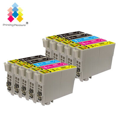 10 Ink Cartridges for Epson Expression XP-332 XP-335 XP-432 XP-435 Upgraded-chip