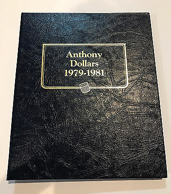 Susan B. Anthony Dollar Set 1979-1981 1999 Complete Collection Proof Type II S
