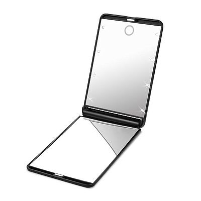 Plemo Dimmable LED Makeup Mirror Magnification Illuminated 8 LEDs Lighted Mirror