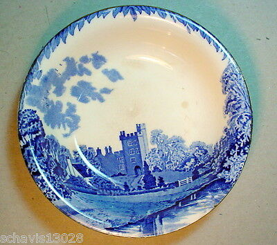 Antique China Haddon Hall Britain Beautiful Burleigh Ware Bowl Made in England