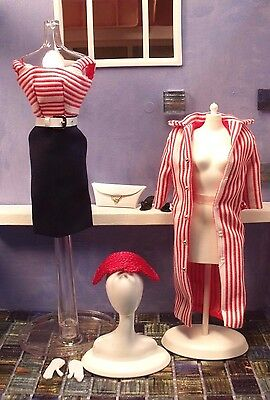 ROMAN HOLIDAY SHEATH Dress Jacket *VINTAGE REPRO Barbie Fashion Outfit LOT