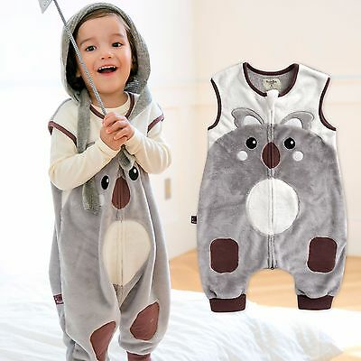"Vaenait Baby Kids Boys Girls Warm Soft Blanket Sleepsack ""Mf.Zoozoo Koa"" 1T-7T"