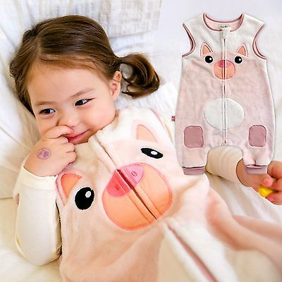 "Vaenait Baby Kids Boys Girls Warm Soft Blanket Sleepsack ""Mf.Zoozoo Piggy"" 1T-7T"