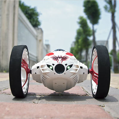 New Bouncing highJumping Sumo Wifi Control Camera Car Toy RC Jumping Bounc