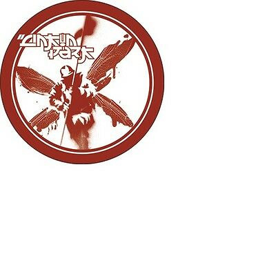 """LINKIN PARK RED SOLDIER Logo 1 1/2"""" ACROSS METAL BUTTON NEW"""