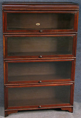 Wilton Mahogany 5 Tier Stacking Sectional Bookcase / Cabinet