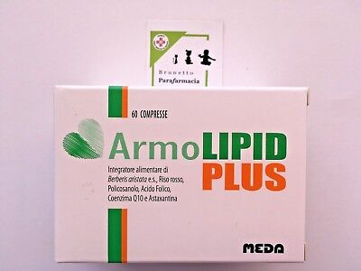 ArmoLIPID PLUS 60 compresse - Integratore CONTROLLO COLESTEROLO - MEDA