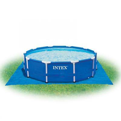 Telo base per piscina intex 10760 ultra frame rettangolare for Tappeto per piscina intex