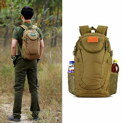 25L Outdoor Tactical Molle Hiking Camping Bag Army Military Rucksack Backpack