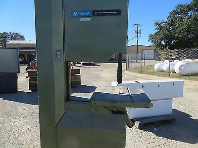 Rockwell Model 20 Vertical Band Saw