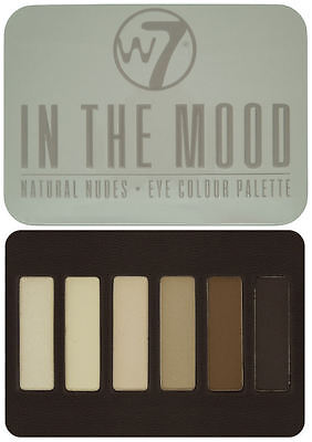 W7 Eyeshadow Palette - In The Mood - With Applicator Makeup