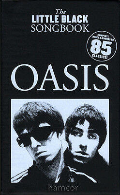 Oasis The Little Black Songbook Guitar Chords & Lyrics Music Song Book