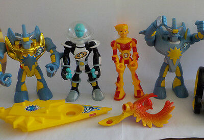 Fisher Price PLANET HEROES Figures Lot