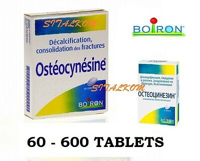 Osteocynesine 60 - 600 tabl. Homeopathy Bone Calcium Deficiency Healing Recovery