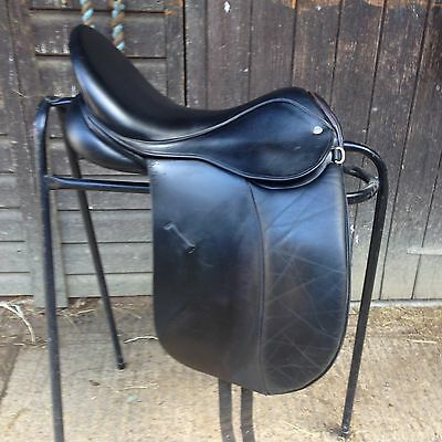 Fieldhouse Leather Dressage Saddle 17""