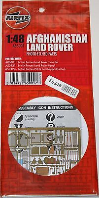 Airfix 1:48 Photo Etched Parts A65001 - Afghanistan Land Rover A06301 A50121 NEW