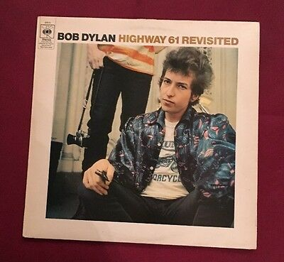 BOB DYLAN highway 61 revisited UK VINYL lp CBS A2 / B2 rare folk vinyl record