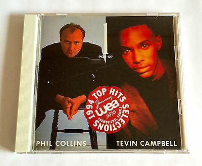 WEA JAPAN TOP HITS SELECTIONS Jan-1994 V.A. PROMO ONLY CD Phil Collins Joan Jett