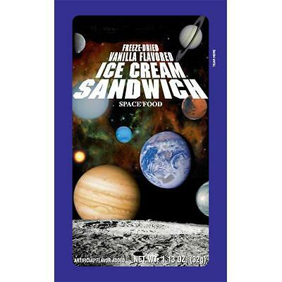 LuvyDuvy 58-524-12 Sandwich Freeze-Dried Ice Cream, 12-pack