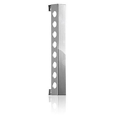 Vynebar VB8PS Vynebar 8 Polished Silver Vertical Wine Rack