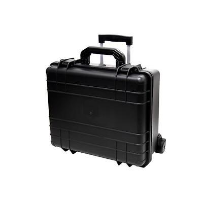 TZ Case WCB-018 B Wheeled 7 Bottle Wine Bottle Case, Black