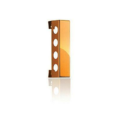 Vynebar VB4PO Vynebar 4 Polished Orange Vertical Wine Rack