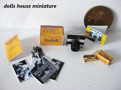 Camera  And Accessories  Dollshouse Miniature