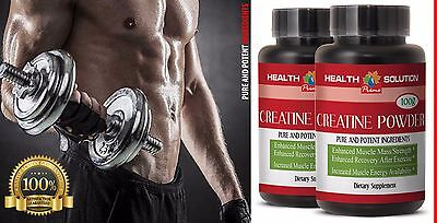 Monohydrate natural compound - CREATINE POWDER - increase muscle strength - 2 B