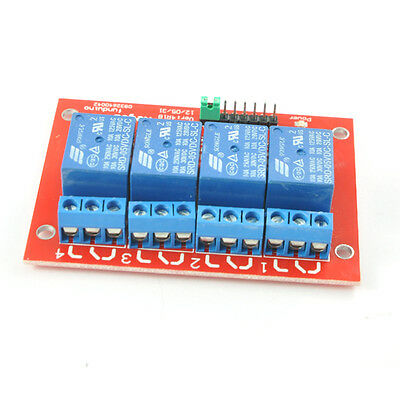 4 Channel 5V Relay Module Expansion Board with Opticalcoupler for Arduino