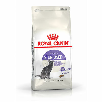 Croquettes pour chats Royal Canin Sterilised 37 Sac 4 kg