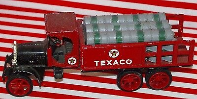 1925 Texaco Kenworth truck - Cast Iron Coin Bank -Collectible -1992 Reproductn