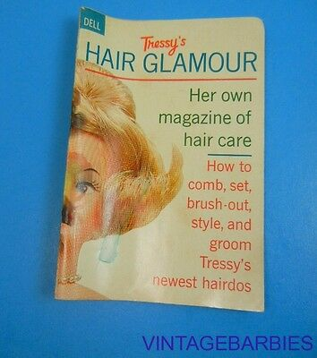 American Character Tressy Doll Hair Booklet HTF ~ Vintage 1960's