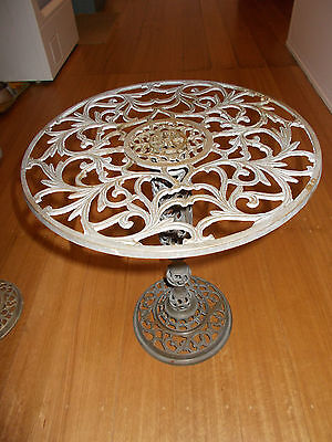 VINTAGE SMALL BRASS TABLE 360 DIAM. x 430 HIGH