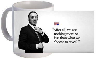 House Of Cards Quote Mug. Brand New.