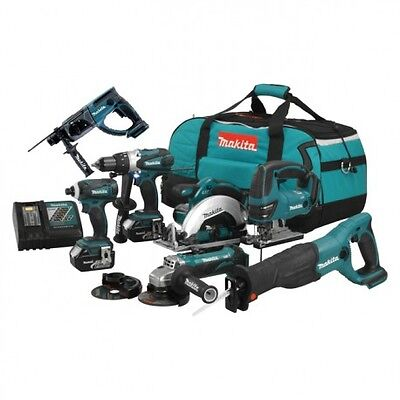 PACK 7 OUTILS MAKITA DLX700M 18V (2 x 4,0 Ah)