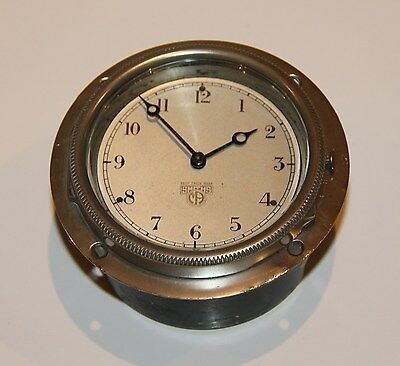 SMITHS VINTAGE CAR CLOCK Runs well