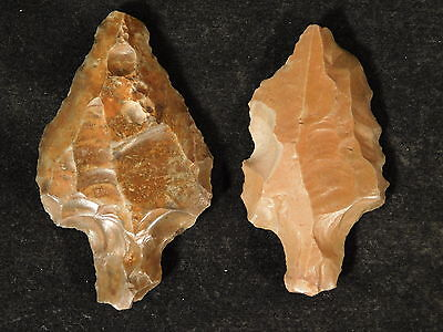 TWO NICE! Aterian Artifacts 55,000 to 12,000 Years Old Found in Algeria! 81.2 e