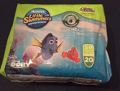 Huggies Little Swimmers - Finding Dory - Small 16-26lb - 20 pack