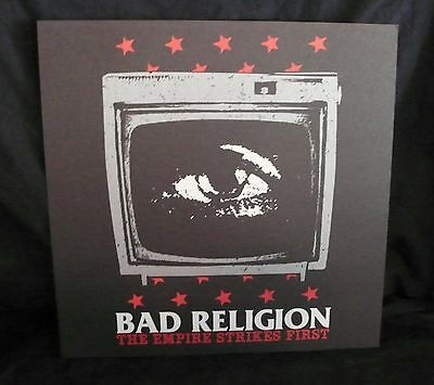 BAD RELIGION Empire Strikes First Album Promo Poster Epitaph Records Unused LQQK
