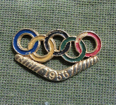#d250.  1956 Melbourne Olympic Games  Badge , No Pin