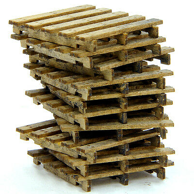 F/G scale BANTA MODEL WORKS #925 Wood Pallets (7 per kit)