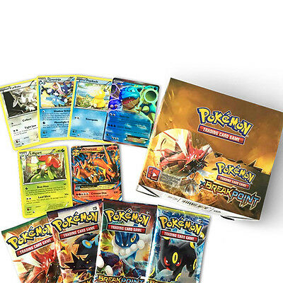 Pokemon GO TCG Break Point Booster Box English Edition 36 Packs 324pcs Card Gift