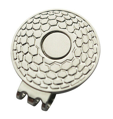 Magnetic Hat Clip for Golf Ball Marker - Suits Golf Cap or Visor - Brand New