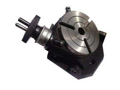 """4""""/100mm New Tilting Rotary Table With MT-2 Bore"""