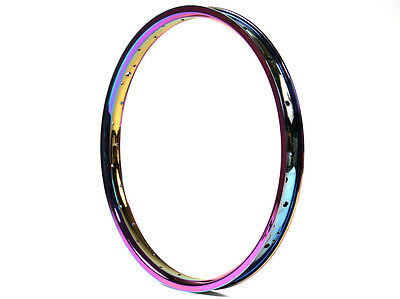 NEW Oil Slick BMX Rim RAINBOW JET FUEL BMX RIM ULTRA RARE