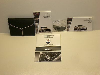 2014 Maserati Quattroporte S Q4 Owners Manual with DVD and Leather Case